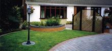 Suburban Front Garden